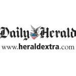 Logo for the Daily Herald Newspaper. Visit the website.