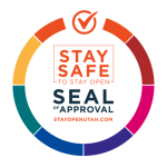Stay Safe to Stay Open Seal of approval
